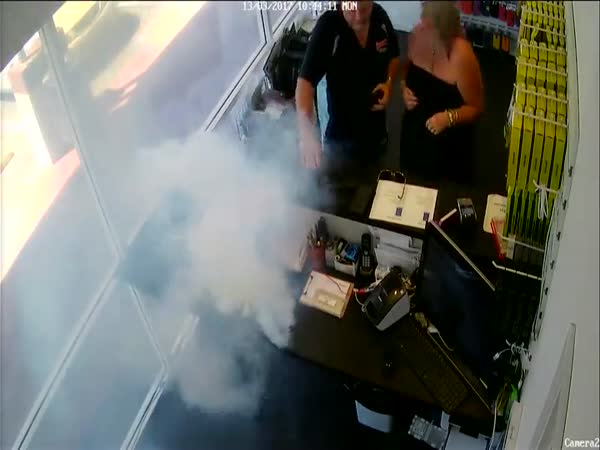 IPhone Explodes In Repair Shop