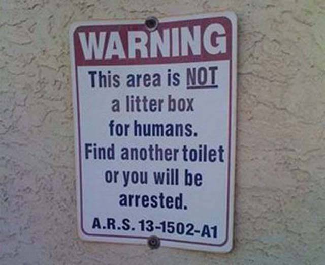 As Long As These Signs Exist Idiots Are Safe (46 pics)