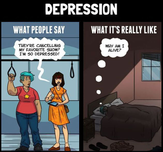 What People Say About Mental Illness Vs What They Actually Mean (5 pics)