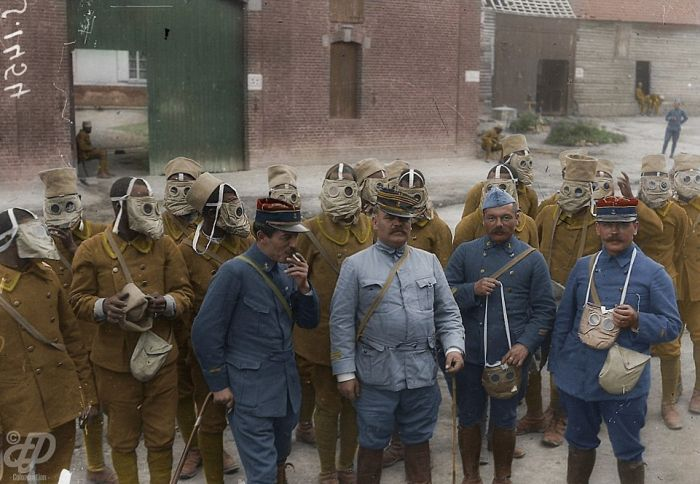 Vintage World War I Photos Look Stunning In Color (23 pics)