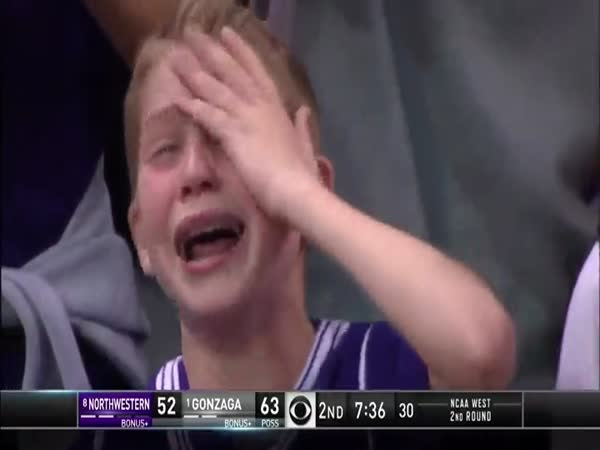 Kid Crying At NCAA Game Becomes The Newest Internet Meme