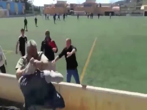 Parents Fight At Soccer Game