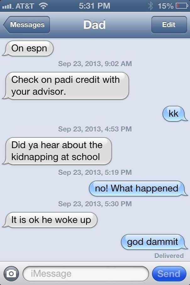 Proof That Dads Are Brilliant At Texting (40 pics)