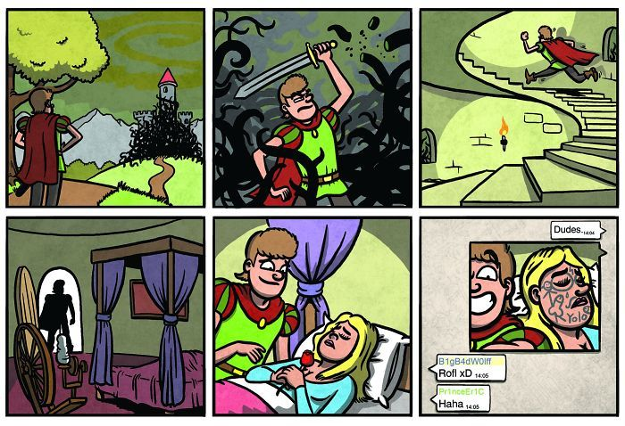 Disney Comics That Will Completely Ruin Your Childhood (30 pics)