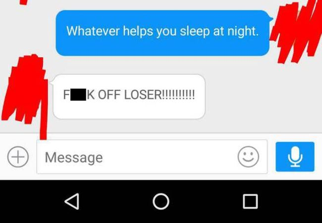 This Post-Date Conversation Went Downhill Quick (7 pics)