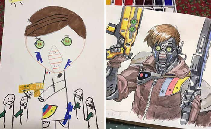 The Secret Of This Guy's Perfect Anime Comics Has Been Revealed (12 pics)