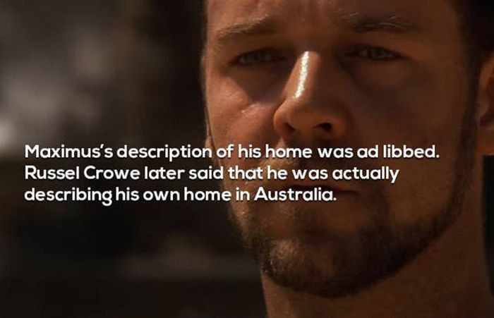 Facts About The Movie Gladiator You Need To Know (18 pics)