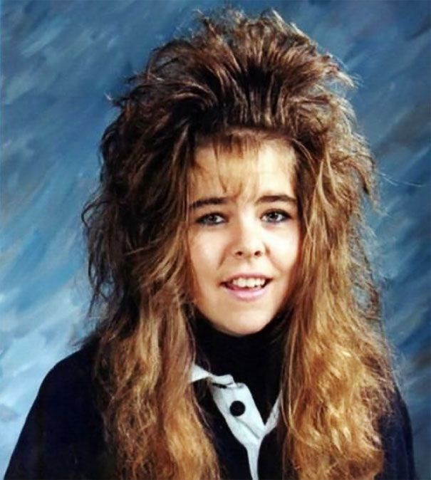 Embarrassing Hairstyles From The '80s And '90s That Should Never Come Back (38 pics)