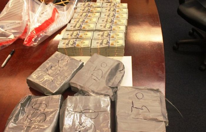 Millions Of Dollars And Three Kilos Of Heroin Found In Furniture (11 pics)