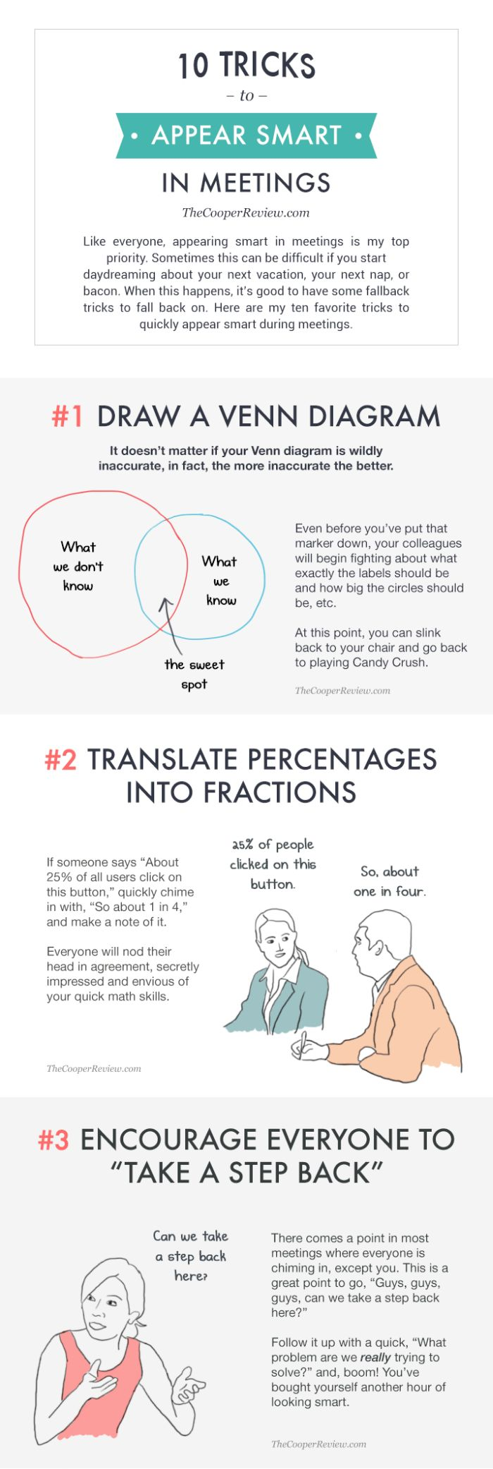 10 Tricks That Will Help You Appear Smart In Meetings (3 pics)