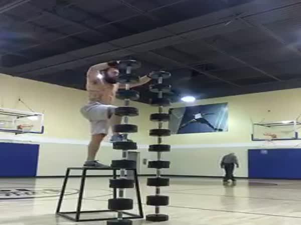 Old Basketball Player And Gymnast