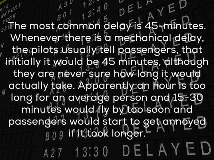 Airlines Have Their Secrets They Don't Want To Reveal (20 pics)