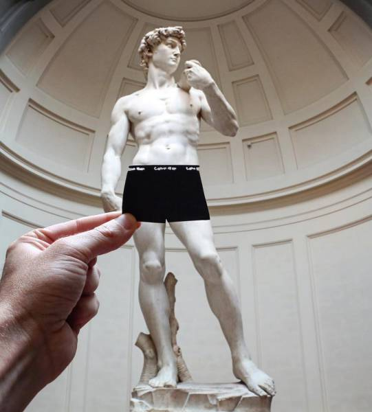 Real Artist Transforms Famous Landmarks Using Only Paper (43 pics)