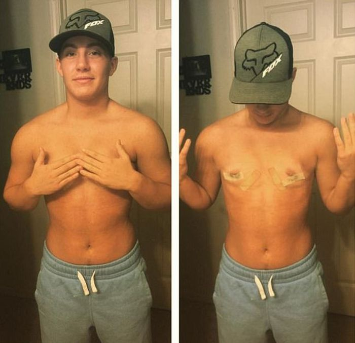 Transgender Musician Shares Stunning Images Of His Transformation (7 pics)