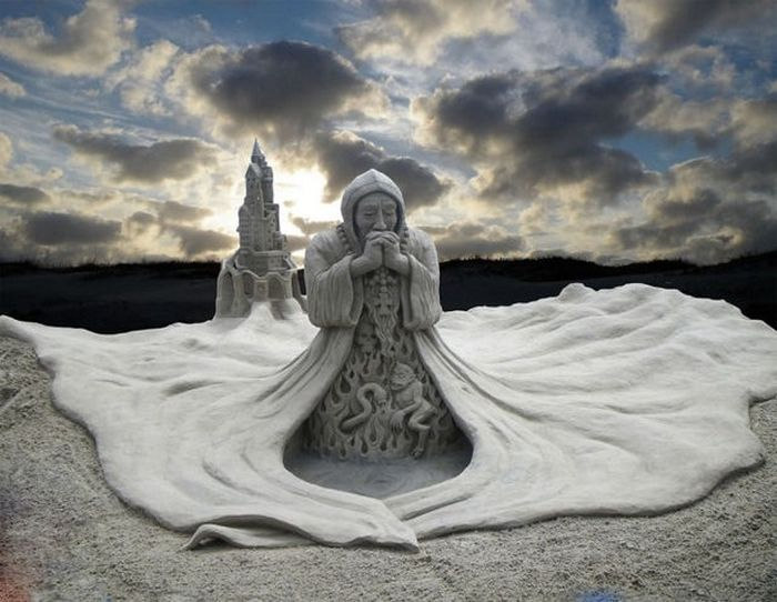Beautiful Sand Sculptures (27 pics)