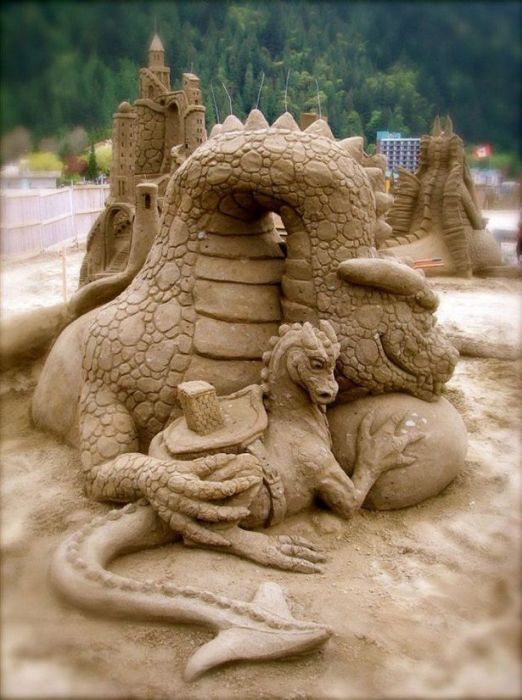 Beautiful Sand Sculptures (27 pics)