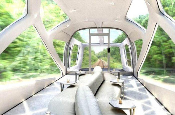 Japanese Luxury Train Shiki-Shima (12 pics)