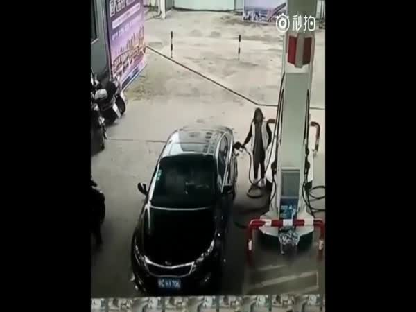 Instant Karma In Action