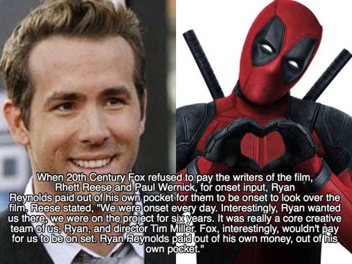 Deadpool Becomes Even More Amazing With These Facts (27 pics)
