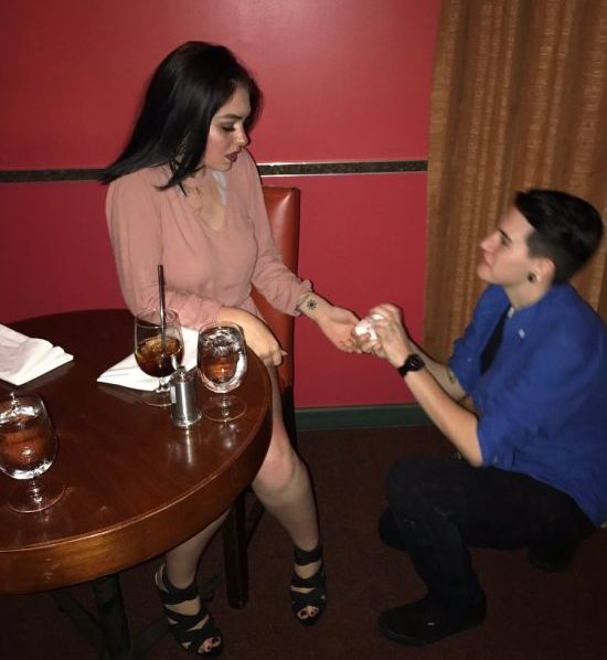 Couple Admits To Faking A Proposal (5 pics)