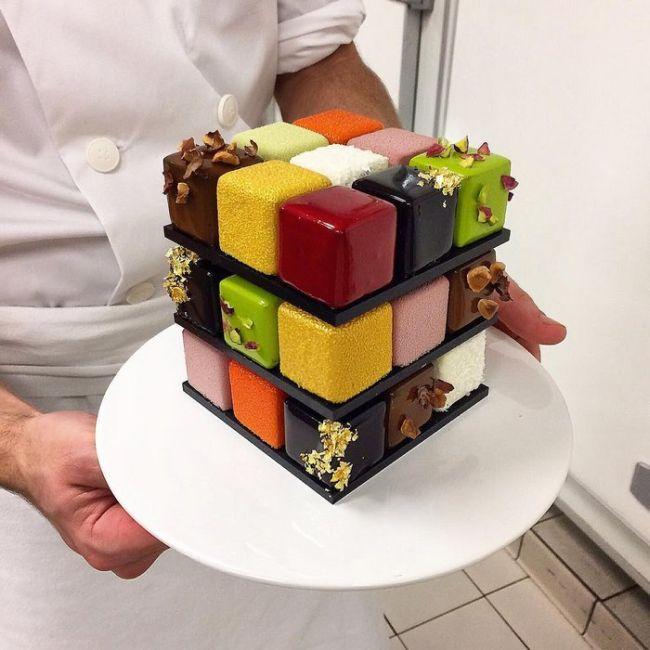Rubik's Cakes Are Too Cool To Eat (8 pics)