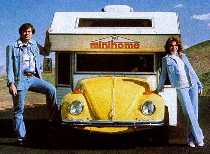 Volkswagen Bugs Also Make Awesome Campers (7 pics)