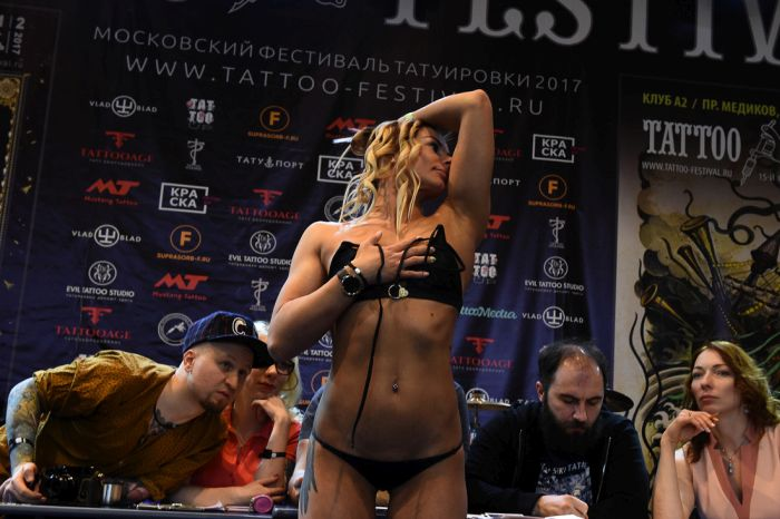 You Can See Some Amazing Things At The Moscow Tattoo Festival (30 pics)