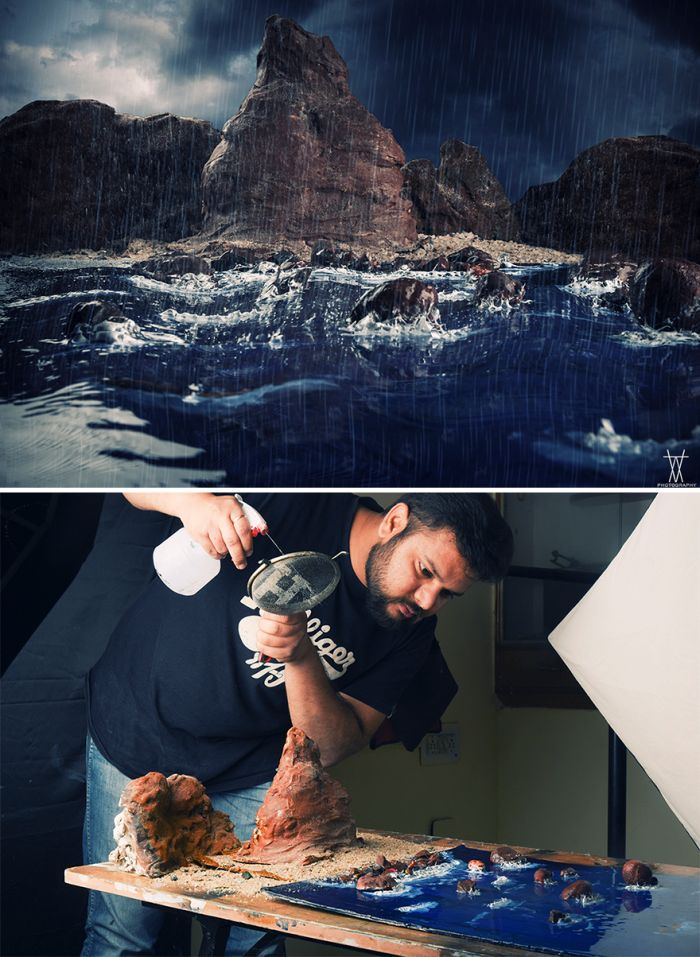 Photographer Creates Epic Outdoor Sets Using Very Little Money (25 pics)