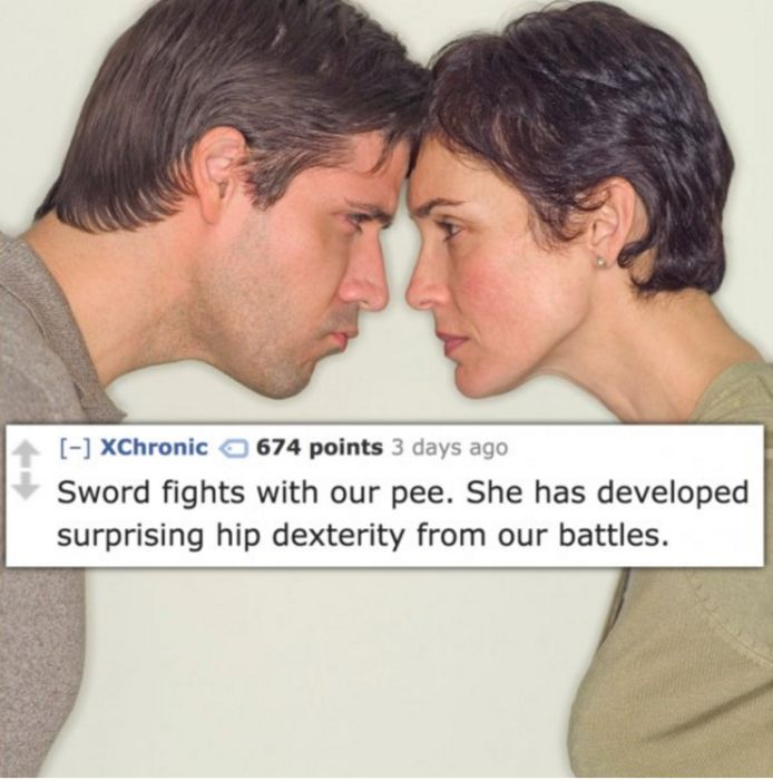 Gross People Admit Strange Things They Do With Their Significant Other (14 pics)