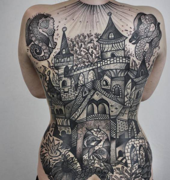 You Really Can't Say That Tattooing Is Not Art (27 pics)
