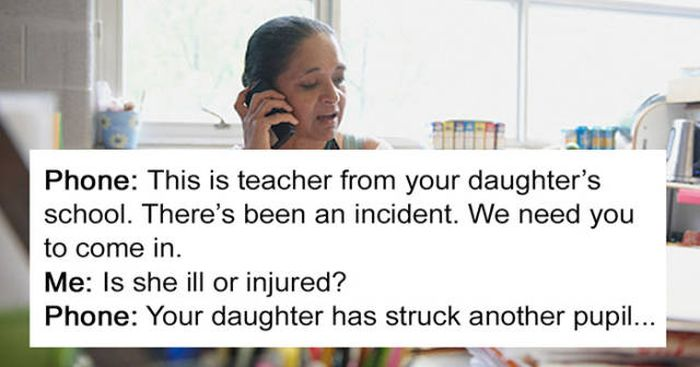 Mother Defends Her Daughter After Incident At School (8 pics)