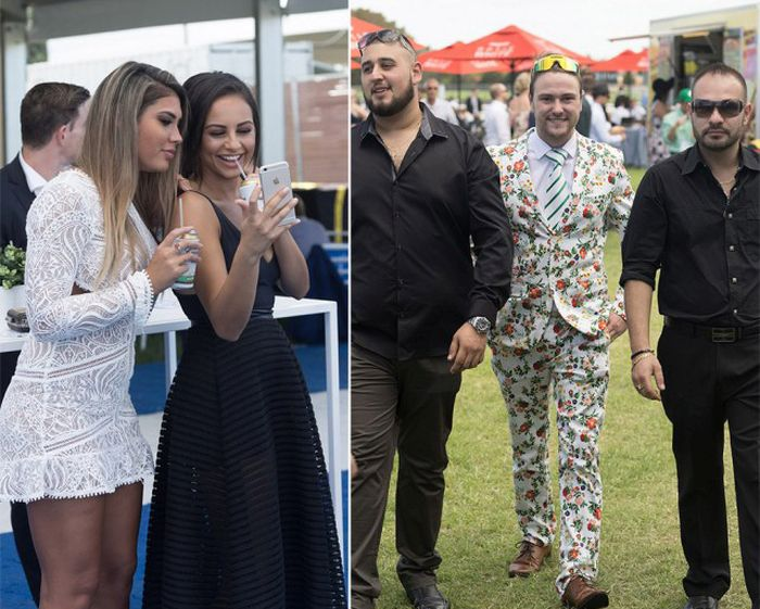 Classy Ladies Party At The Australian Derby (13 pics)