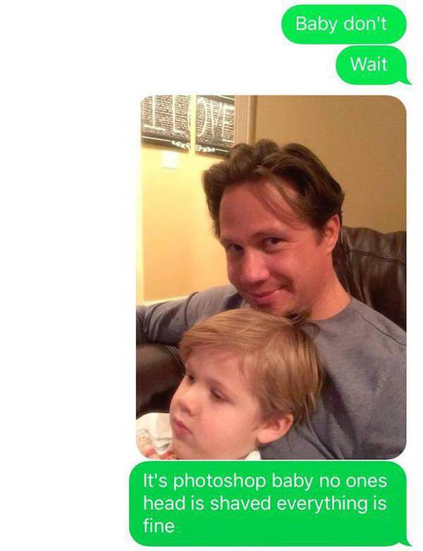 Husband Uses His Son To Pull Epic Prank On Wife (13 pics)