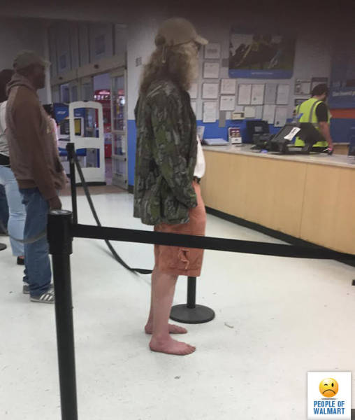People of Walmart. Part 35 (47 pics)