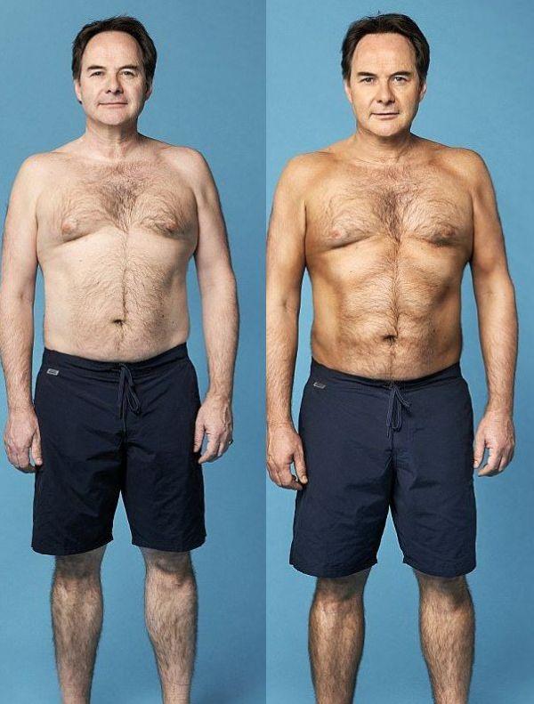 Artificial Tan Gives British Man Fake Muscles (5 pics)