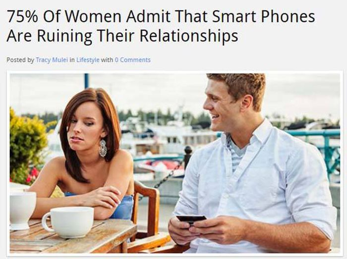 It's Funny To Think They Said Smartphone Addiction Will Never Be A Thing (26 pics)