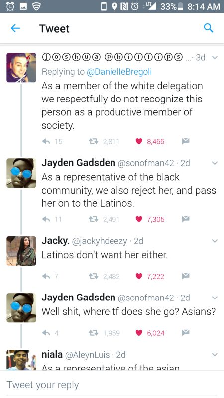 Cash Me Ousside Girl Gets Owned On Twitter (3 pics)