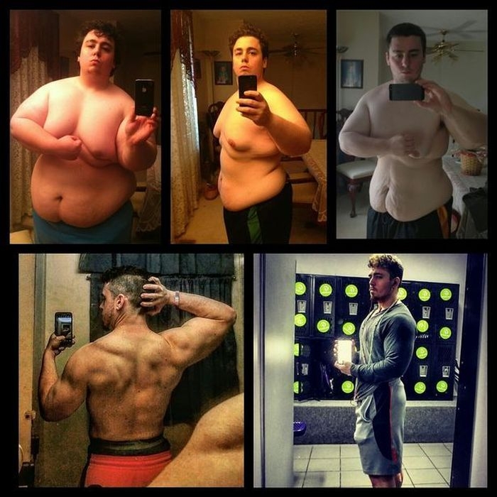 You Won't Believe How Much Weight This Guy Lost (12 pics)