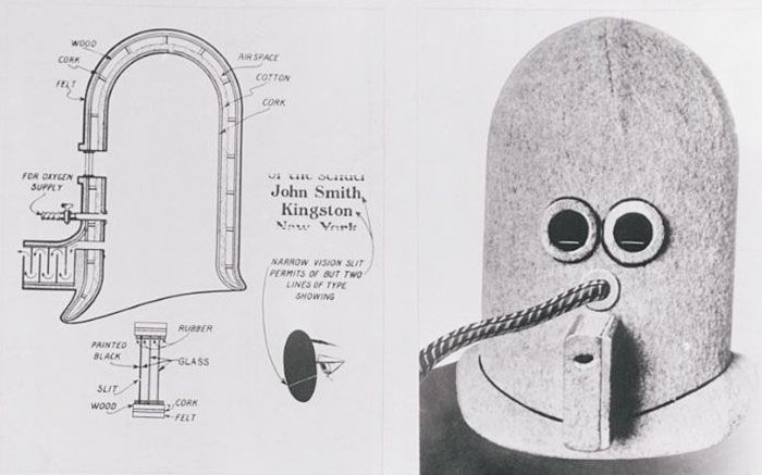 Crazy Anti-Distraction Helmet From 1925 That's Still Relevant Today (5 pics)
