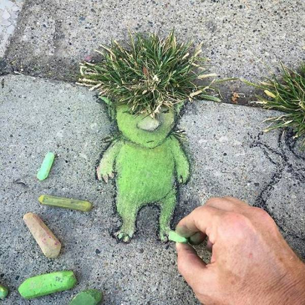 Sometimes Nature And Street Art Go Hand In Hand (48 pics)