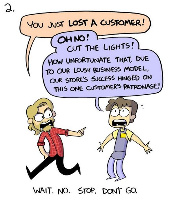 8 Perfectly Rude Responses For Rude Customers (11 pics)