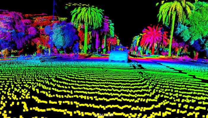 See The World From The Eyes Of An Unmanned Car (6 pics)