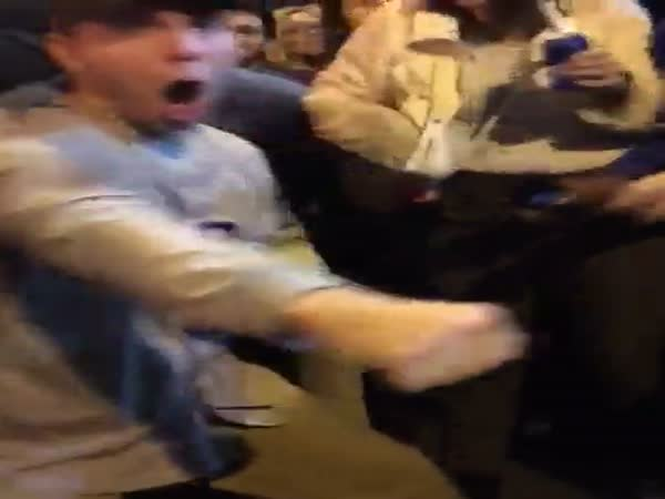 Cubs Fan Stops Fight With The Power Of Dance