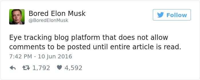 Bored Elon Musk Has Some Pretty Brilliant Ideas (13 pics)