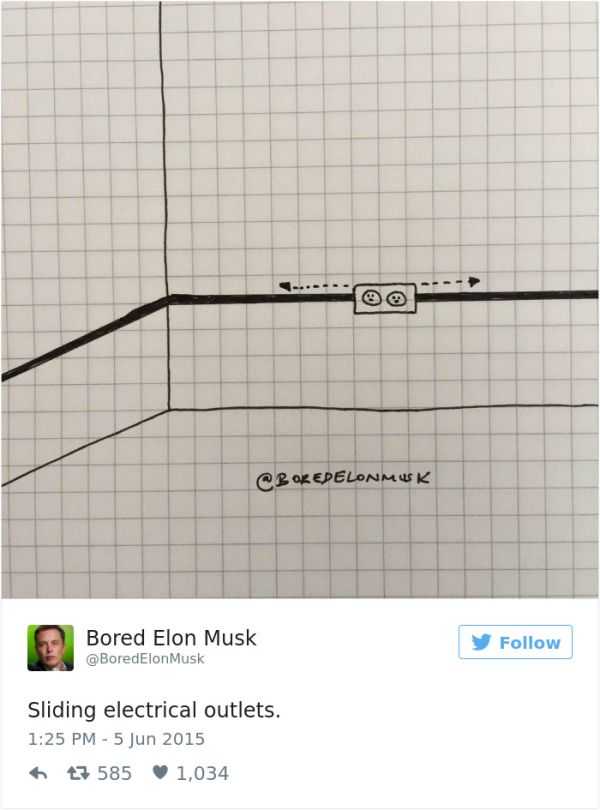 Bored Elon Musk Has Some Pretty Brilliant Ideas (13 pics)