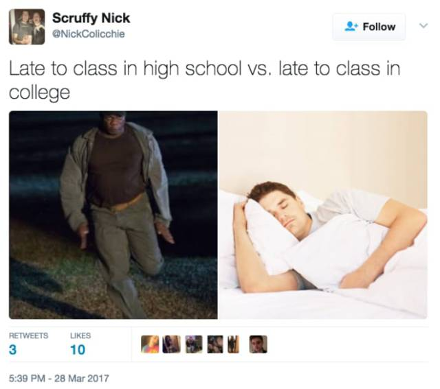 Tweets Teens Won't Understand Until They Go To College (22 pics)