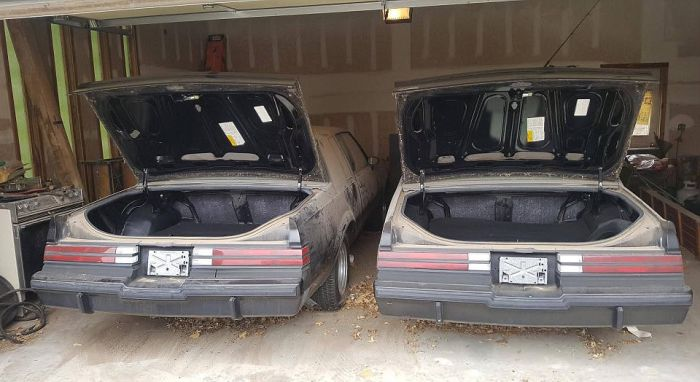 Mysterious Turbocharged Buicks Discovered In Garage (11 pics)