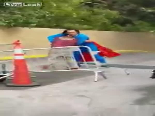 Superman Vs Homeless