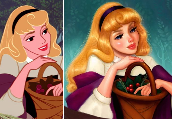 What Disney Princesses Would Look Like If They Were Realistic (7 pics)
