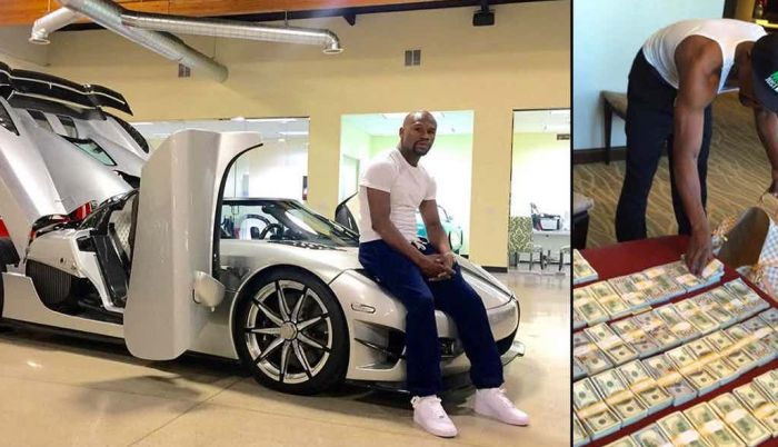 15 Expensive Luxury Cars That Only Floyd Mayweather Can Afford (15 pics)